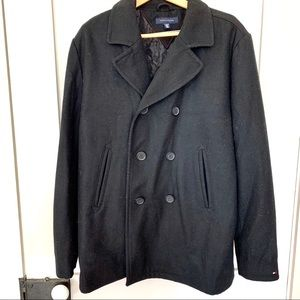 Tommy Hilfiger Double Breasted Peacoat Jacket XL